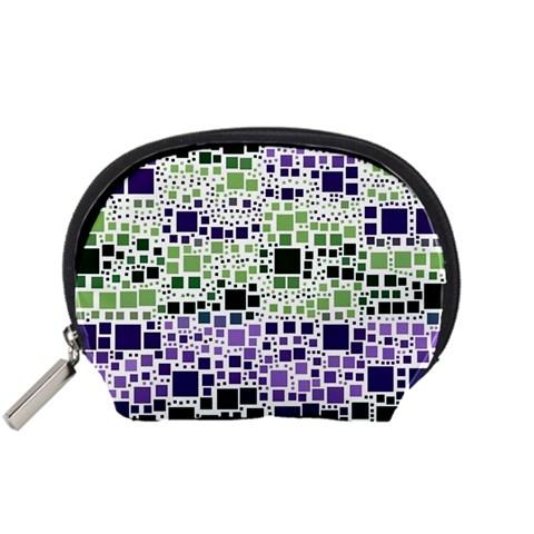 Block On Block, Purple Accessory Pouches (Small)
