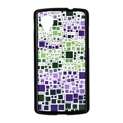 Block On Block, Purple Nexus 5 Case (Black)