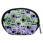 Block On Block, Purple Accessory Pouches (Medium)  Back