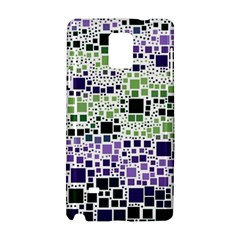 Block On Block, Purple Samsung Galaxy Note 4 Hardshell Case