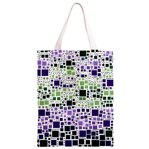 Block On Block, Purple Classic Light Tote Bag