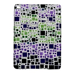 Block On Block, Purple iPad Air 2 Hardshell Cases