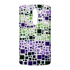 Block On Block, Purple LG G3 Back Case