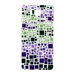 Block On Block, Purple Samsung Galaxy Alpha Hardshell Back Case