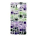 Block On Block, Purple Samsung Galaxy Alpha Hardshell Back Case Front