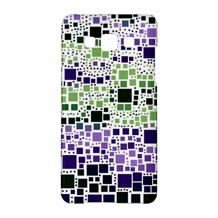 Block On Block, Purple Samsung Galaxy A5 Hardshell Case