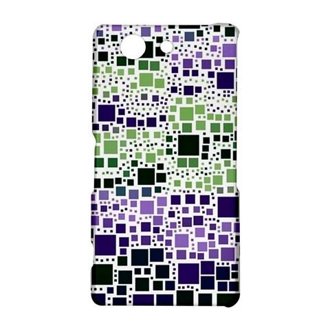 Block On Block, Purple Sony Xperia Z3 Compact