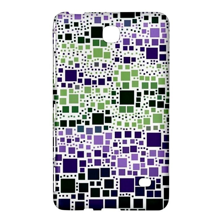 Block On Block, Purple Samsung Galaxy Tab 4 (7 ) Hardshell Case
