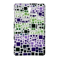 Block On Block, Purple Samsung Galaxy Tab S (8 4 ) Hardshell Case