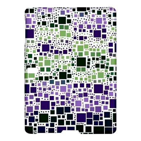 Block On Block, Purple Samsung Galaxy Tab S (10.5 ) Hardshell Case