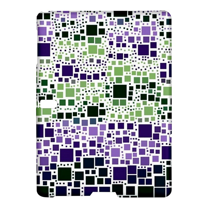 Block On Block, Purple Samsung Galaxy Tab S (10.5 ) Hardshell Case