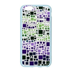 Block On Block, Purple Apple Seamless iPhone 6/6S Case (Color)