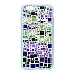 Block On Block, Purple Apple Seamless iPhone 6/6S Case (Color) Front