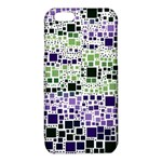 Block On Block, Purple iPhone 6/6S TPU Case Front
