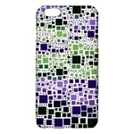 Block On Block, Purple iPhone 6 Plus/6S Plus TPU Case Front