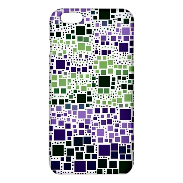 Block On Block, Purple iPhone 6 Plus/6S Plus TPU Case