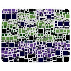 Block On Block, Purple Jigsaw Puzzle Photo Stand (rectangular)