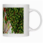 Christmas Quilt Background White Mugs Right