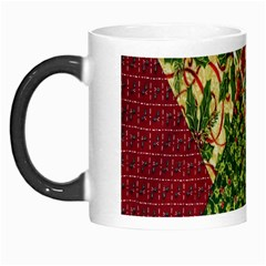 Christmas Quilt Background Morph Mugs