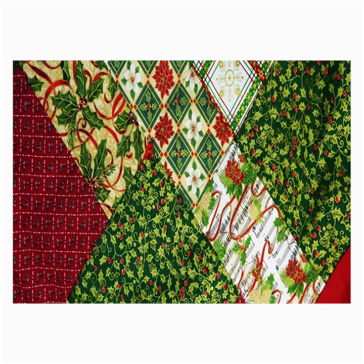 Christmas Quilt Background Collage Prints