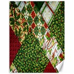 Christmas Quilt Background Canvas 12  x 16   16 x12 Canvas - 1