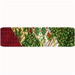 Christmas Quilt Background Large Bar Mats 34 x9.03 Bar Mat - 1