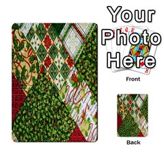 Christmas Quilt Background Multi-purpose Cards (Rectangle)