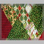Christmas Quilt Background Canvas 20  x 16  20  x 16  x 0.875  Stretched Canvas