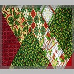 Christmas Quilt Background Canvas 24  x 20  24  x 20  x 0.875  Stretched Canvas