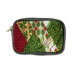 Christmas Quilt Background Coin Purse Front