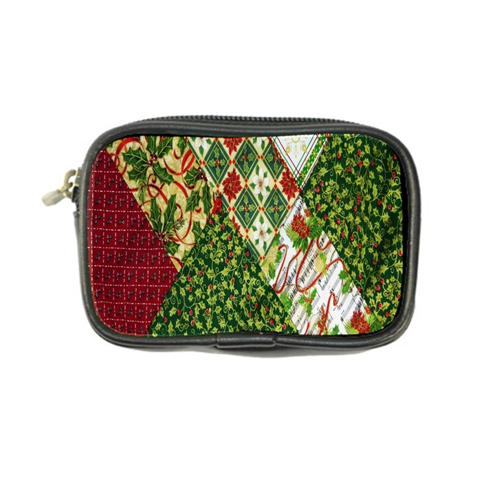 Christmas Quilt Background Coin Purse