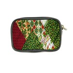 Christmas Quilt Background Coin Purse Back