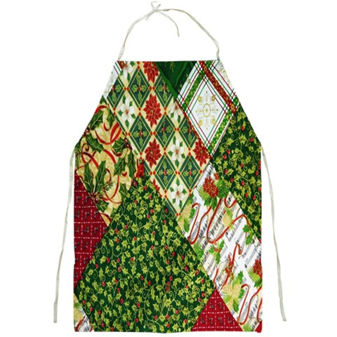 Christmas Quilt Background Full Print Aprons