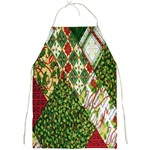 Christmas Quilt Background Full Print Aprons Front