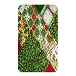 Christmas Quilt Background Memory Card Reader Front