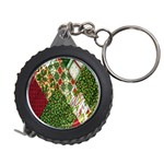 Christmas Quilt Background Measuring Tapes Front