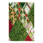 Christmas Quilt Background Shower Curtain 48  x 72  (Small)  42.18 x64.8 Curtain