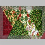 Christmas Quilt Background Deluxe Canvas 18  x 12   18  x 12  x 1.5  Stretched Canvas