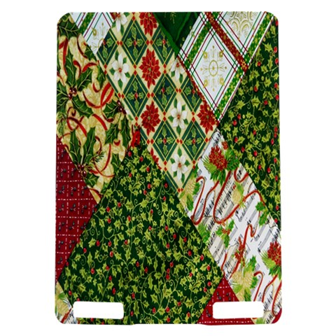 Christmas Quilt Background Kindle Touch 3G