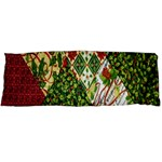 Christmas Quilt Background Body Pillow Case Dakimakura (Two Sides) Front