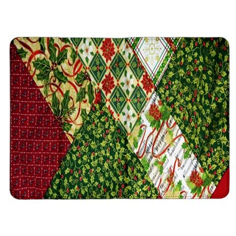 Christmas Quilt Background Kindle Fire (1st Gen) Flip Case