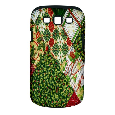 Christmas Quilt Background Samsung Galaxy S III Classic Hardshell Case (PC+Silicone)