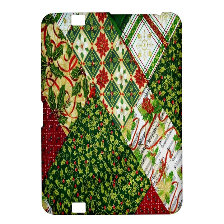 Christmas Quilt Background Kindle Fire HD 8.9