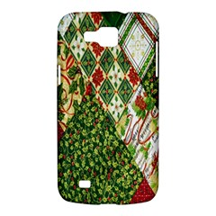 Christmas Quilt Background Samsung Galaxy Premier I9260 Hardshell Case