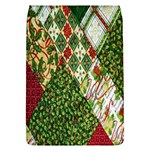 Christmas Quilt Background Flap Covers (L)  Front