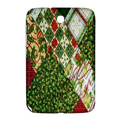 Christmas Quilt Background Samsung Galaxy Note 8.0 N5100 Hardshell Case