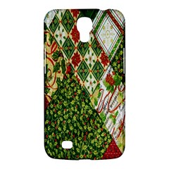 Christmas Quilt Background Samsung Galaxy Mega 6.3  I9200 Hardshell Case