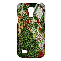 Christmas Quilt Background Galaxy S4 Mini