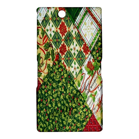 Christmas Quilt Background Sony Xperia Z Ultra