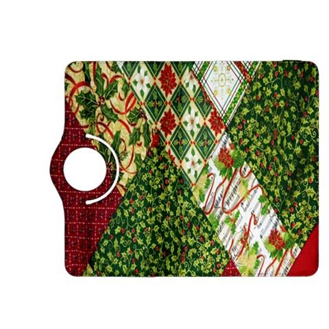 Christmas Quilt Background Kindle Fire HDX 8.9  Flip 360 Case
